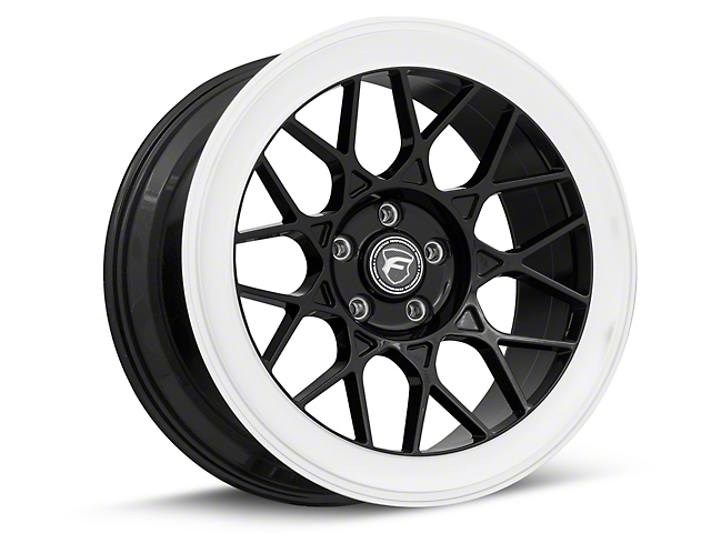 Forgestar S18 Black Machined Wheel - 19x9.5 (05-09 All)