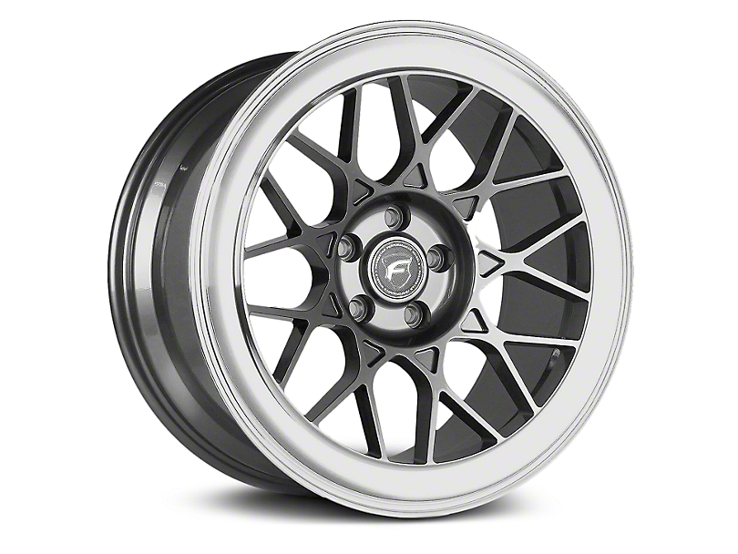 Forgestar S18 Gunmetal Machined Wheel - 19x9 (05-14 All)