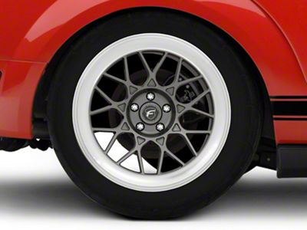 Forgestar S18 Gunmetal Machined Wheel - 19x10 (05-14 All)