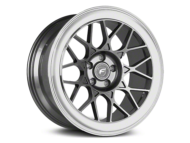 Forgestar S18 Gunmetal Machined Wheel - 19x11 - Rear Only (05-14 All)