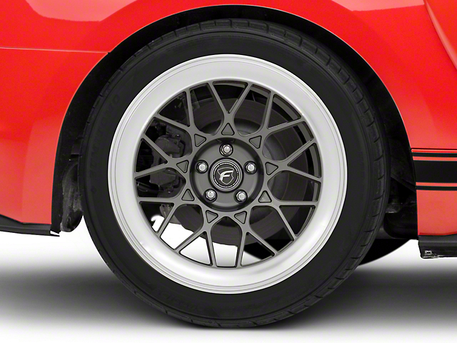 Forgestar S18 Gunmetal Machined Wheel - 19x11 (15-19 All)