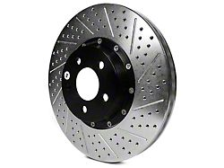 Baer EradiSpeed+ 2-Piece Drilled & Slotted Rotors - Front Pair (13-14 GT500)