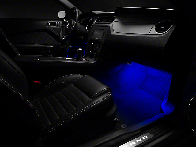 Raxiom LED Footwell Lighting Kit - Blue (05-14 All)