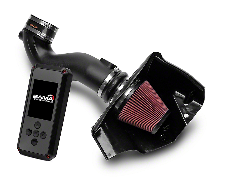 Airaid Race Cold Air Intake & BAMA Rev-X Tuner (05-09 GT)