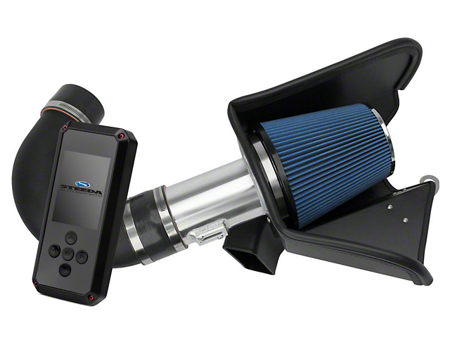 Steeda Cold Air Intake and BAMA Rev-X Tuner (11-14 GT w/ Automatic Transmission)