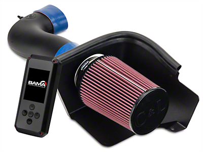 C&L Racer Cold Air Intake w/ 95mm MAF & Bama Rev-X Tuner (05-09 GT)