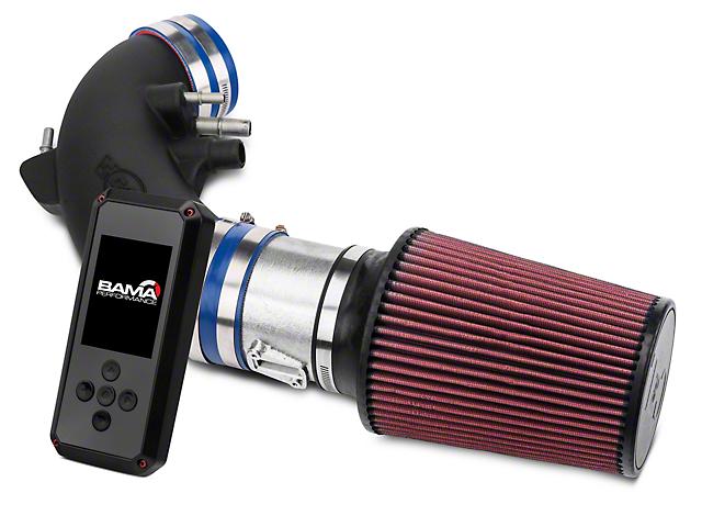 C&L Racer Cold Air Intake & BAMA Rev-X Tuner (15-16 GT)