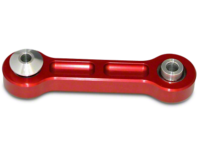 J&M Rear Vertical Links w/ Spherical Bearings - Red (15-17 All)