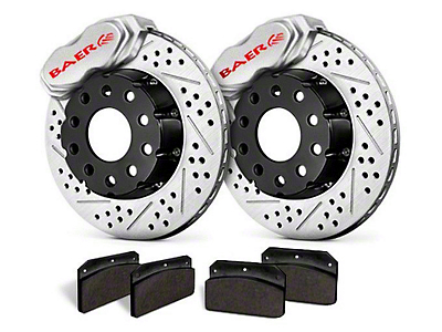 Baer SS4+ Deep Stage Rear Brake Kit - Clear (15-19 GT, EcoBoost, V6)
