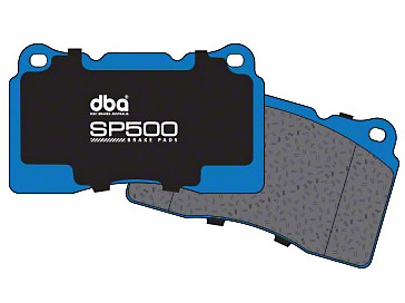DBA SP500 Street Performance Brake Pads - Front Pair (11-14 GT Brembo, 12-13 BOSS, 07-12 GT500)