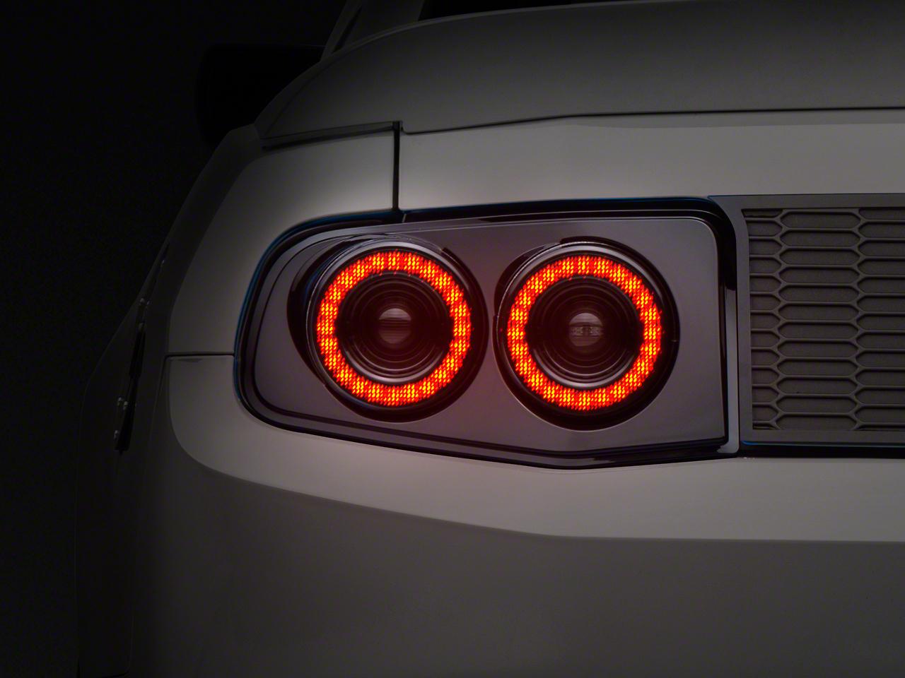 Raxiom Smoked Dual Halo LED Tail Lights (10-12 All)