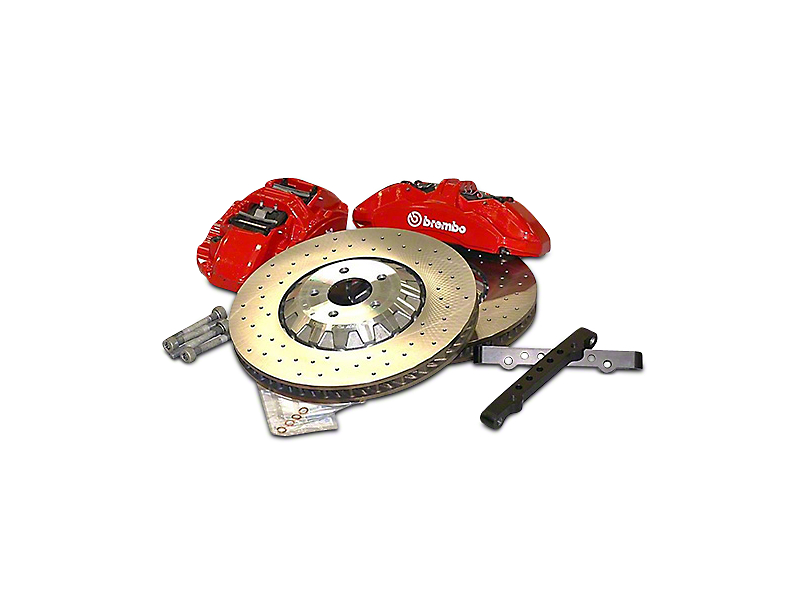Ford Performance GT350R Brake Upgrade Kit (15-19 GT, EcoBoost)