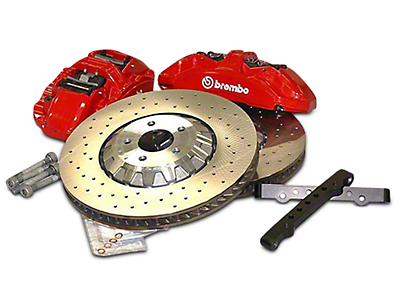Ford Performance GT350R Brake Upgrade Kit (15-18 GT, EcoBoost)