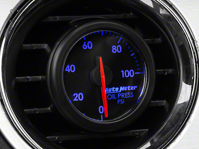Auto Meter AirDrive Oil Pressure Gauge - Electrical (96-17 All)