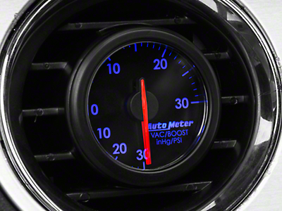 Auto Meter AirDrive Boost/Vac Gauge - Electrical (96-17 All)