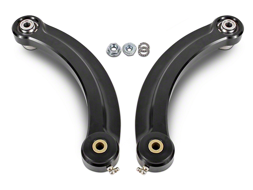 BMR Rear Upper Control Arm Camber Links w/ Delrin Bearings - Black (15-18 All)