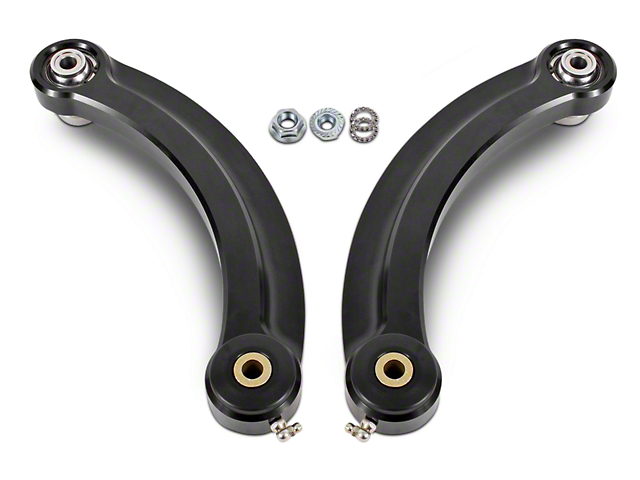 BMR Rear Upper Control Arm Camber Links w/ Delrin Bearings - Black (15-17 All)