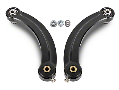 BMR Rear Upper Control Arm Camber Links w/ Delrin Bearings - Black (15-19 All)