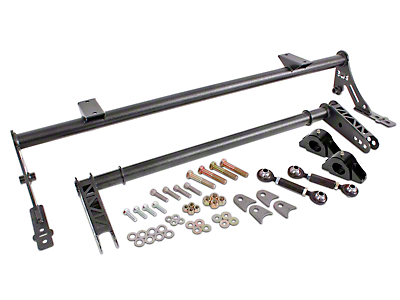 BMR Xtreme Anti-Roll Bar Kit - Hammertone - Rear (05-14 All)