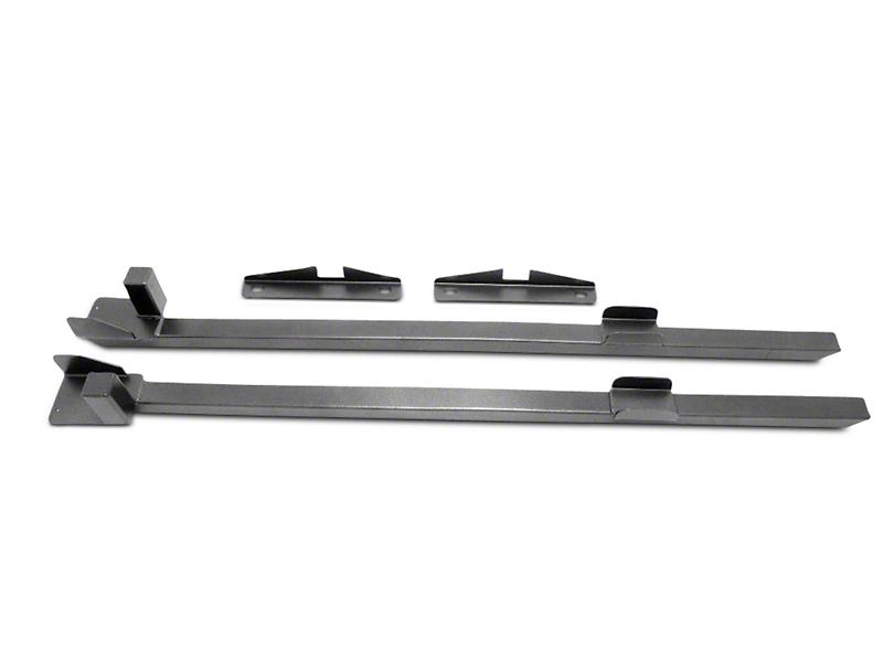 BMR Subframe Connectors - Hammertone (79-93 Coupe, Hatchback)