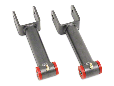 BMR Non-Adjustable Rear Upper Control Arms - Poly Bushings - Hammertone (79-04 All; Excluding 99-04 Cobra)