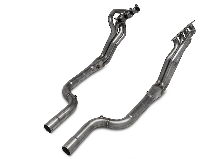 Stainless Works 1-7/8 in. Long Tube Off-Road Headers w/ XL Leads (15-17 GT w/ SW, MBRP or Corsa Cat-Back)