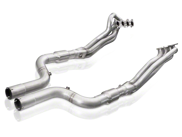 Stainless Works 1-7/8 in. Long Tube Catted Headers w/ XL Leads (15-20 GT w/ SW, MBRP or Corsa Cat-Back)