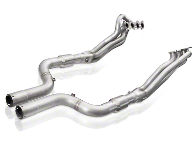 Stainless Works 1-7/8 in. Long Tube Catted Headers w/ XL Leads (15-17 GT w/ SW, MBRP or Corsa Cat-Back)