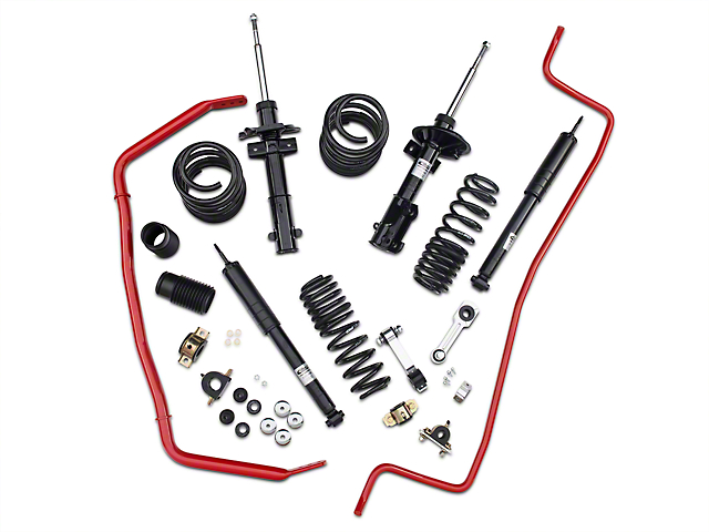 Eibach Pro-System-Plus Suspension Kit with Rear Sway Bar (05-10 GT; 2010 V6)