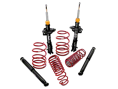 Eibach Sport-System Suspension Kit (79-04 V8 Coupe; 99-04 V6 Convertible; Excluding 94-04 Cobra)