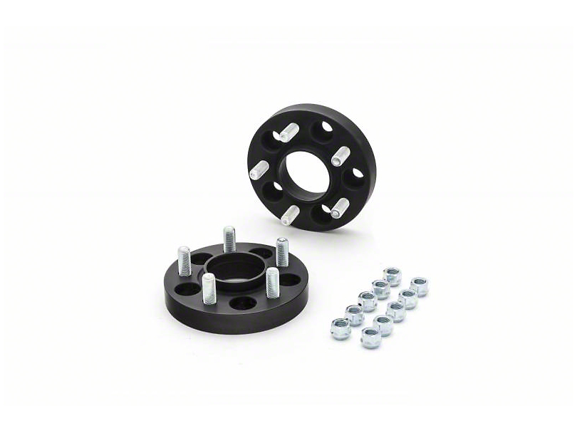 Eibach Pro-Spacer Hubcentric Black Wheel Spacers - 30mm - Pair (15-18 All)