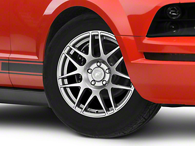 Forgestar F14 Drag Edition Gunmetal Wheel - 17x7 (05-14 All; Excluding 13-14 GT500)