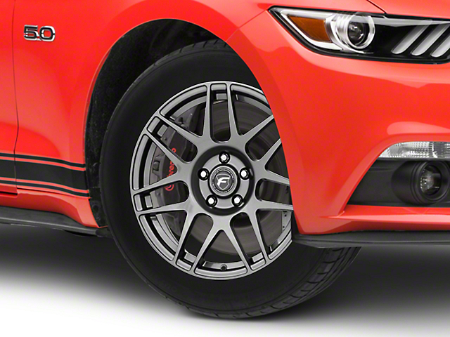 Forgestar F14 Drag Edition Gunmetal Wheel - 17x7 (15-18 All)