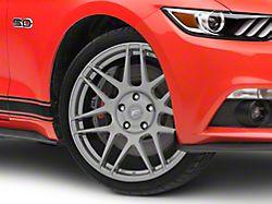 Forgestar F14 Drag Edition Gunmetal Wheel - 18x5 - Front Only (15-19 GT, EcoBoost, V6)