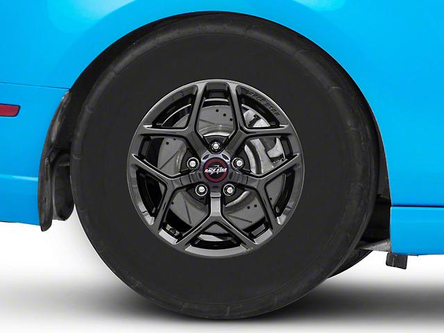 Race Star 95 Recluse Black Chrome Wheel; Rear Only; 15x10 (10-14 All)