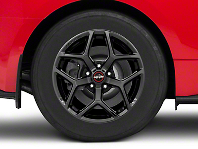 Race Star 95 Recluse Black Chrome Wheel - 17x10.5 (15-18 GT, EcoBoost, V6)
