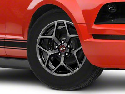 Race Star 95 Recluse Black Chrome Wheel - 17x4.5 - Front Only (05-14 All)