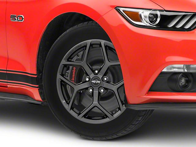 Race Star 95 Recluse Black Chrome Wheel - 17x4.5 (15-18 GT, EcoBoost, V6)