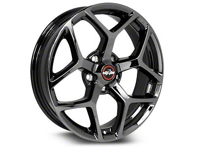 Race Star 95 Recluse Black Chrome Wheel - 17x7 (15-18 GT, EcoBoost, V6)
