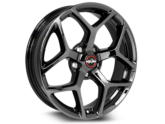 Race Star 95 Recluse Black Chrome Wheel - 18x10.5 (15-19 GT, EcoBoost, V6)