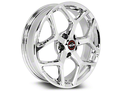 Race Star 95 Recluse Chrome Wheel - 17x7 (15-19 GT, EcoBoost, V6)