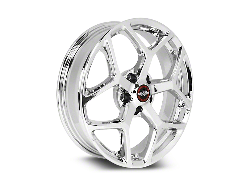 Race Star 95 Recluse Chrome Wheel - 18x5 (15-19 GT, EcoBoost, V6)
