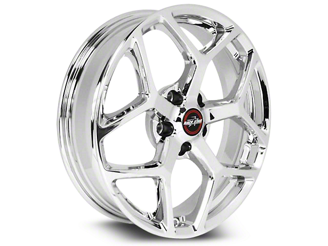 Race Star 95 Recluse Chrome Wheel - 18x5 (15-18 GT, EcoBoost, V6)
