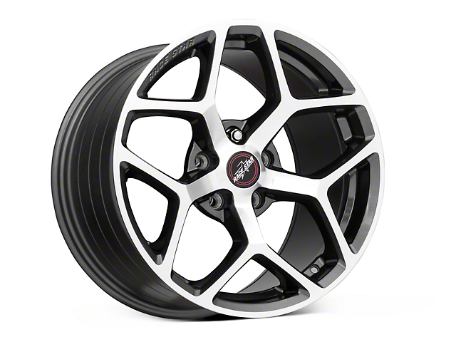 Race Star 95 Recluse Metalic Gray w/ Machined Face Wheel - 17x10.5 (05-17 All)