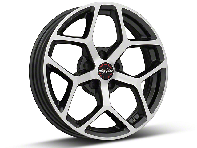 Race Star 95 Recluse Metalic Gray w/ Machined Face Wheel - 17x4.5 (15-17 All)