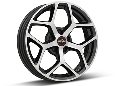 Race Star 95 Recluse Metalic Gray w/ Machined Face Wheel - 17x4.5 (15-18 GT, EcoBoost, V6)