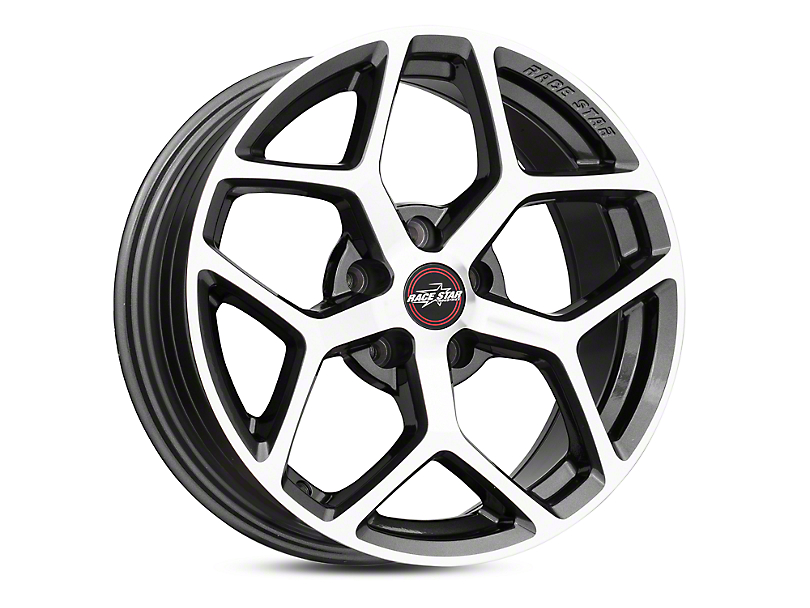 Race Star 95 Recluse Metallic Gray w/ Machined Face Wheel - 17x7 (05-19 All)