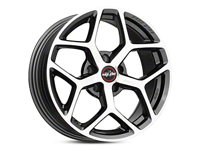 Race Star 95 Recluse Metalic Gray w/ Machined Face Wheel - 17x7 (05-18 All)
