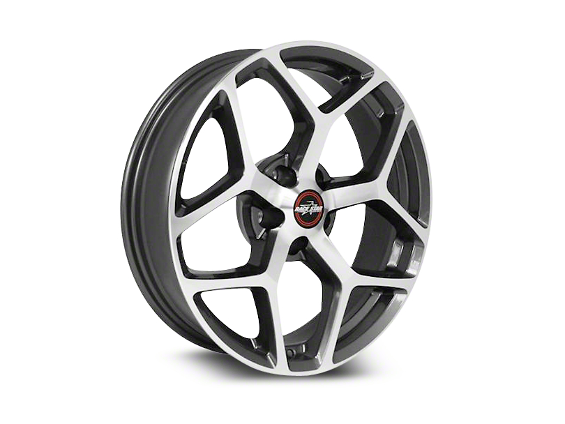 Race Star 95 Recluse Metalic Gray w/ Machined Face Wheel - 18x10.5 (05-18 All)