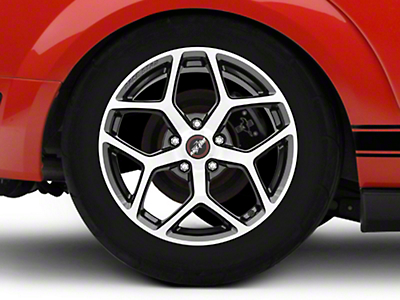 Race Star 95 Recluse Metalic Gray w/ Machined Face Wheel - 18x10.5 (05-14 All)